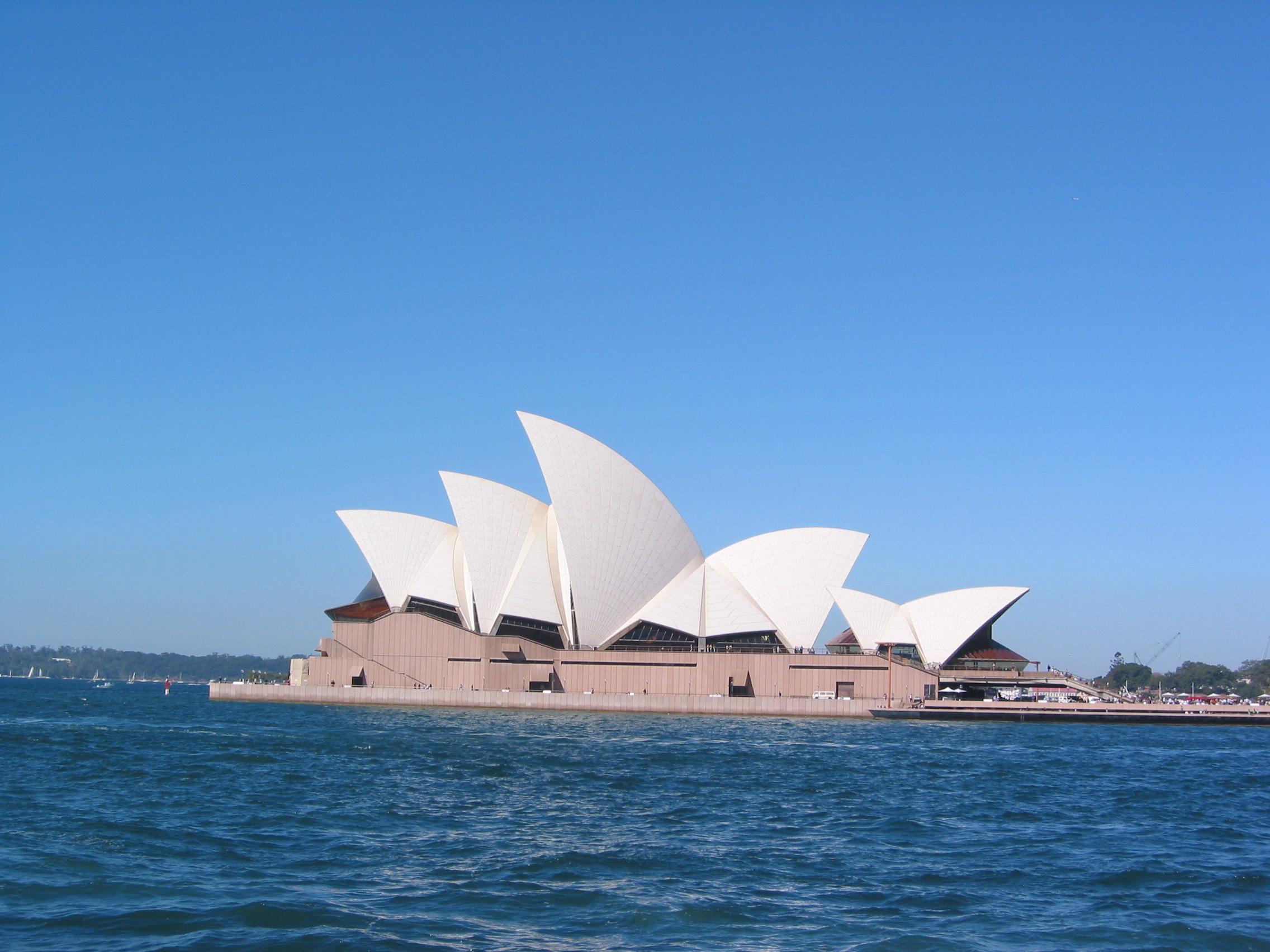 Free Upgrade und erster Tag in Sydney