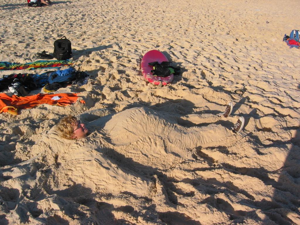 27 Grad, Sonne und Strand