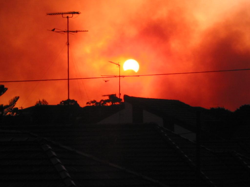 Pruefungen, Stromausfall und Sonnenfinsternis