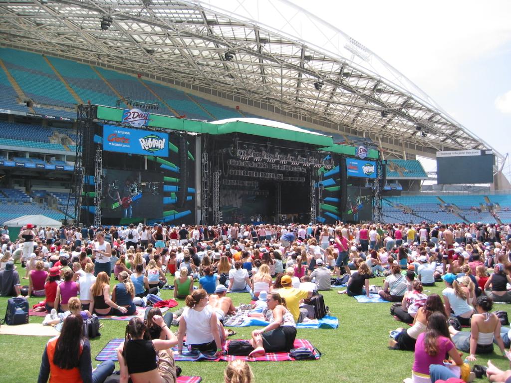 Konzert und Melbourne