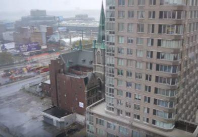 Video: Eindrücke während des Sturms
