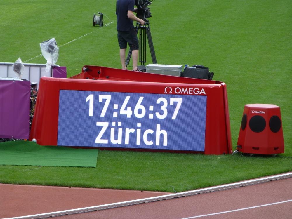 Die Leichtathletik EM in Zürich