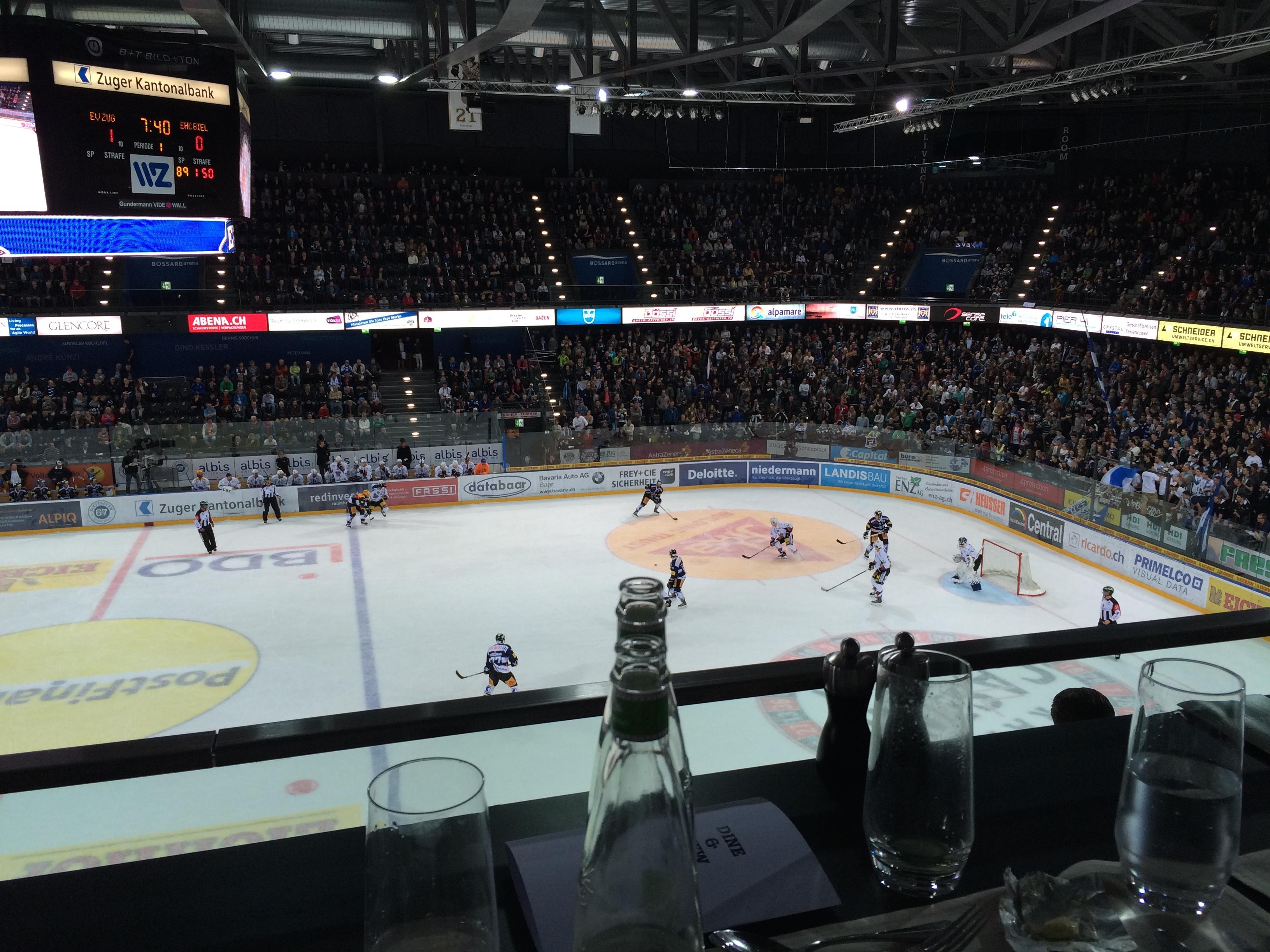 Ein ganz spezieller Hockey-Match