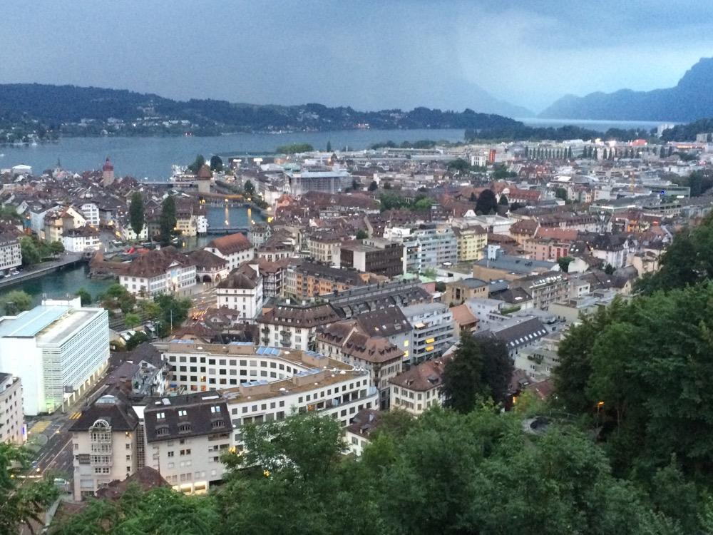 """Im """"Château Gütsch"""" in Luzern"""