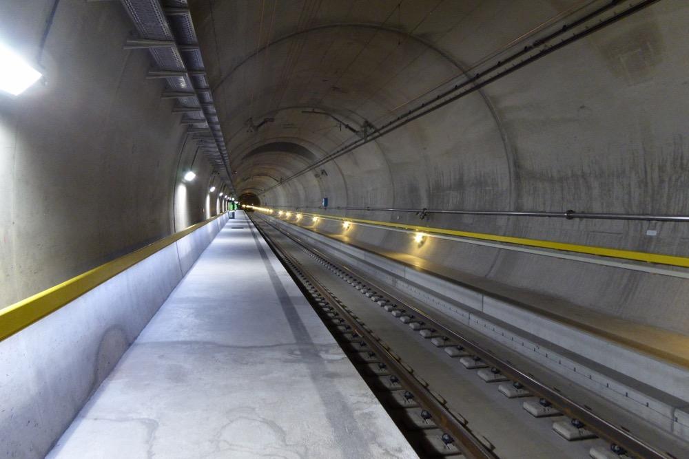 Mit dem Gottardino-Sonderzug durch den NEAT-Eisenbahntunnel