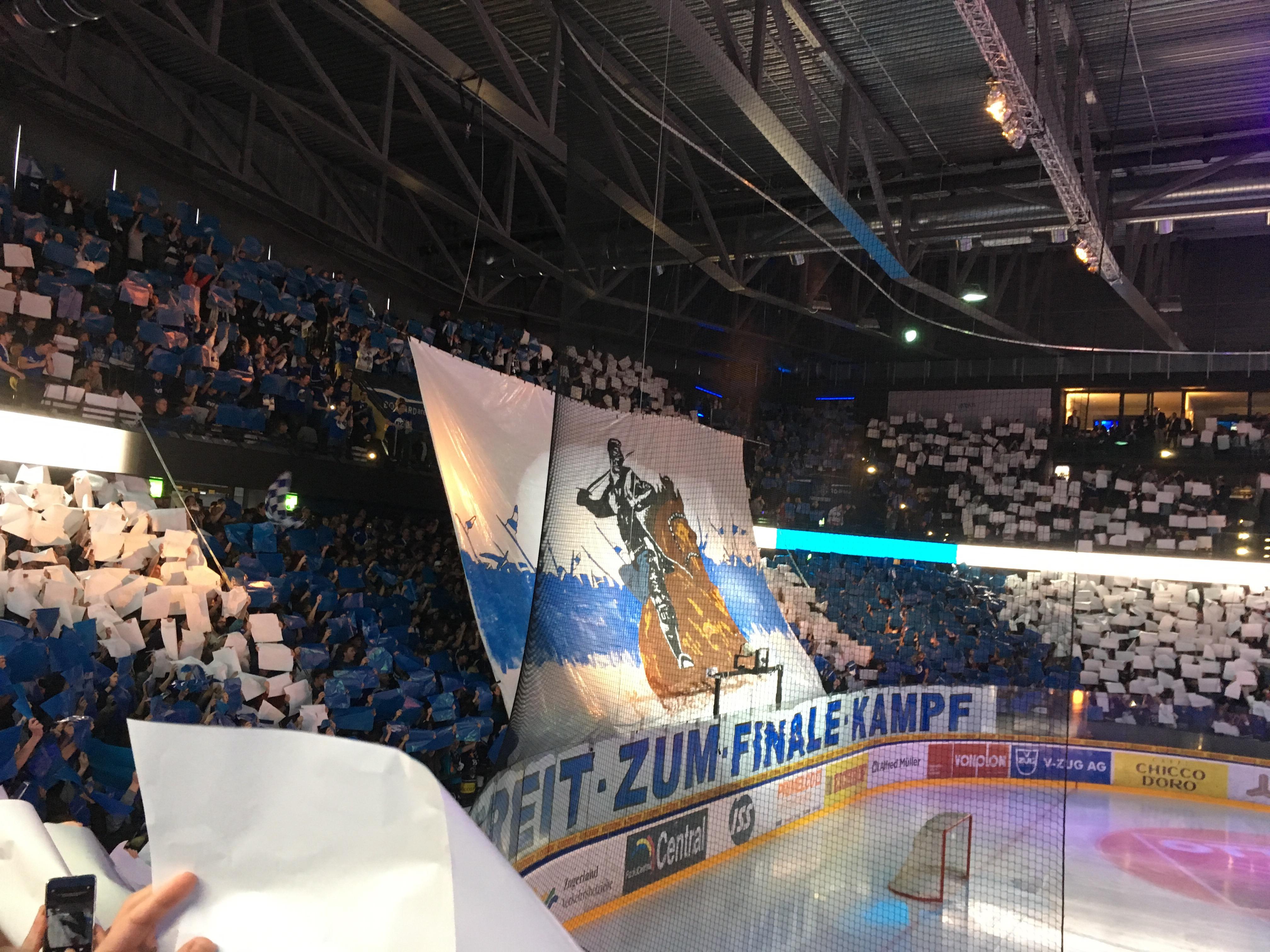 Im Schweizer-Eishockey-Final. Eine lohnenswerte Erfahrung.