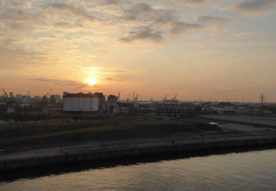 Kreuzfahrt 2018: Le Havre, Seetag und Hamburg